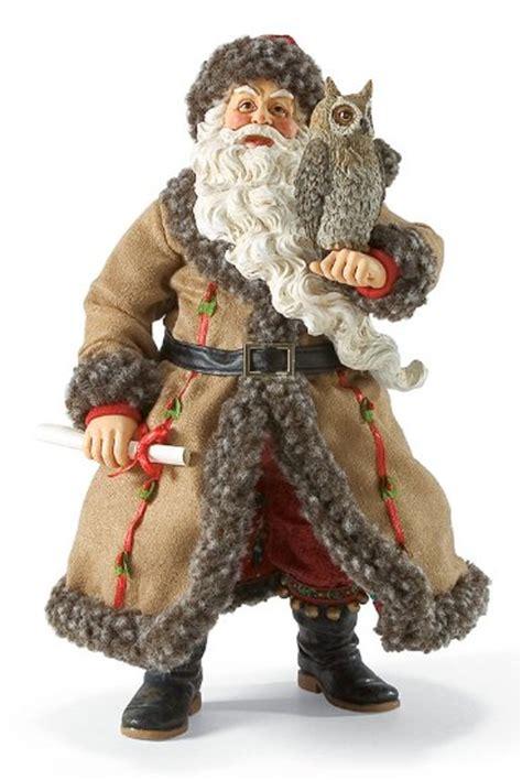 unique santa figurines whoo s your santa santa claus figurines and carved wooden santas