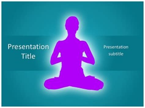 free ppt templates for yoga yoga free powerpoint template and background