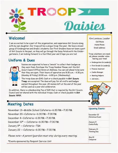 boy scout newsletter template troop parent newsletter template scouts