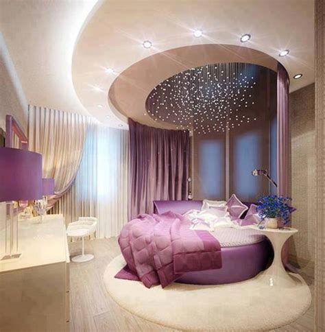 Purple Bedroom by Home Decor Purple Luxury Bedroom Designs