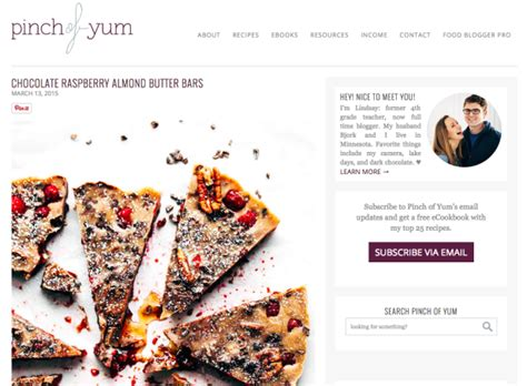 top design blogs 15 top food blogs with designs that leave us