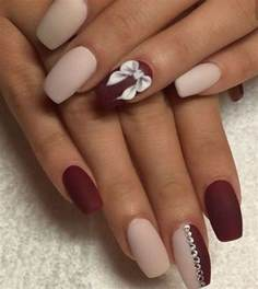 maroon color nails 50 amazing burgundy nails you definately to try