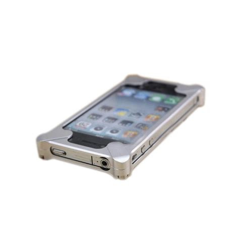 Transformers Mi 4s iphone 4s transformer style diagonal metal aluminum bumper