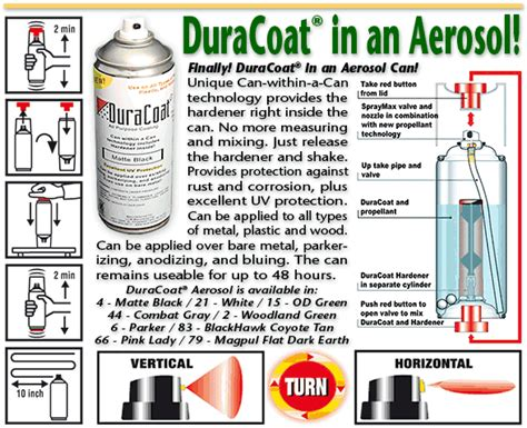 duracoat aerosol colors tactical gear and clothing news duracoat rattle can