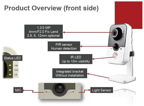 Hikvision Pro Ip Ds 2cd2442fwd Iw B3toe 3 megapixel cmos alarm pro cube hikvision ip with