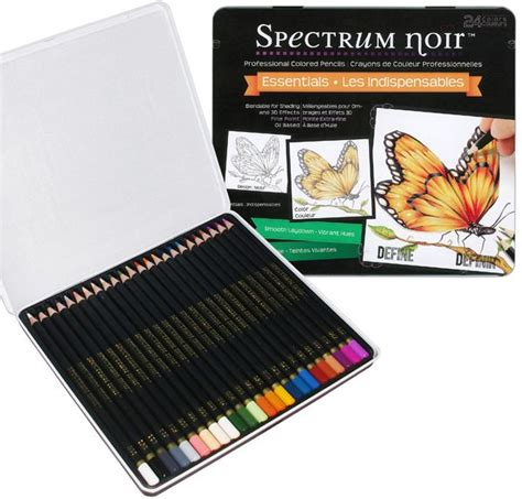 spectrum noir colored pencils 19 best images about spectrum noir blendable pencils on