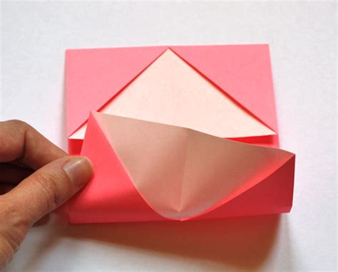 Origami Business Card Holder - how to make an origami business card holder how about orange