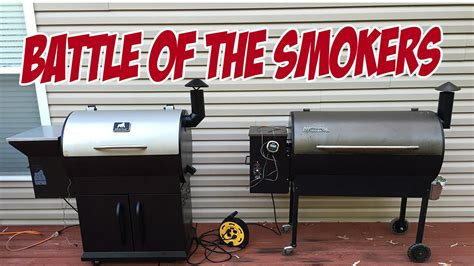 Grill A by Grilla Grills Vs Traeger Battle Of The Smokers