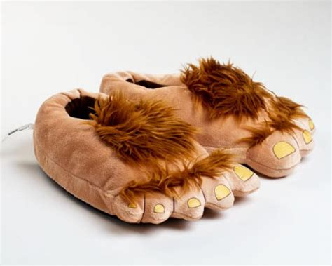 furry house shoes furry adventure slippers hobbit feet slippers halfling slippers