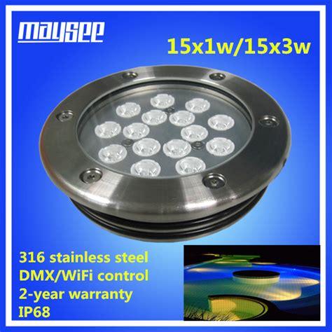 loading dock lights best price high brightness 45w rgb recessed boat dock lights led