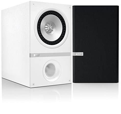 Kef Q100 Speaker Bookshelft For Stereo kef q100 bookshelf loudspeakers white pair