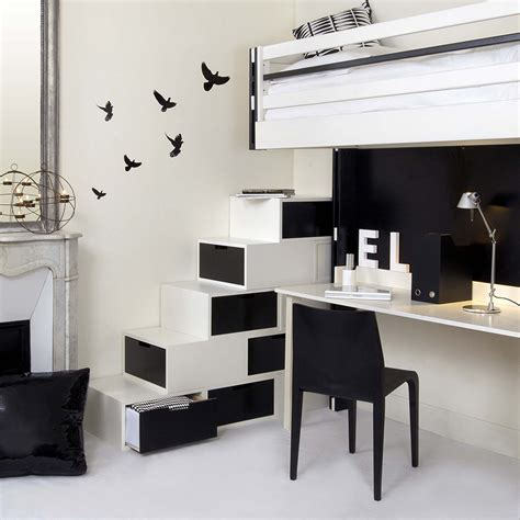 small black and white home office inspirations programme brick escaliers escalier brick