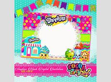 Birthday Invitations Free Printable Shopkins Related Keywords - Blank shopkins birthday invitations