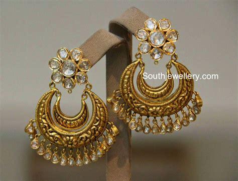 Belleza De Bali Earrings polki chandbalis golden picks