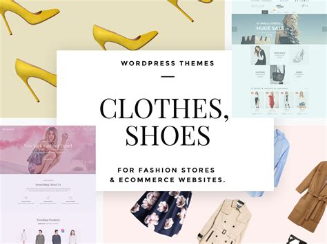 clothing themed words clothes and shoes wordpress themes for fashion stores and