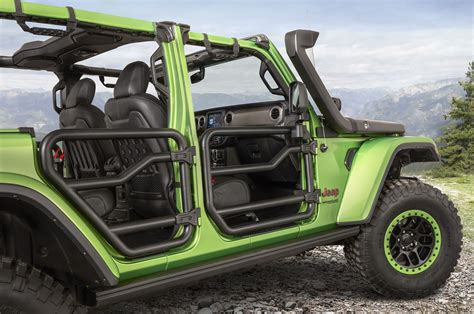 jeep wrangler parts magazine mopar trots out sweet modified jeep wranglers automobile