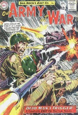 Sontog Dc Army Series 5 our army at war 83 dc comics comicbookrealm