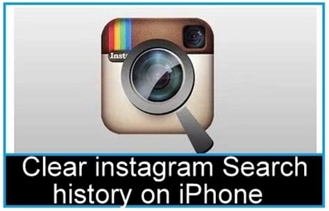 How To Delete From Instagram Search How To Delete Clear Instagram Search History On Iphone Ios 9 How To Isolve