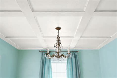 Ceil X by How To Build A Coffered Ceiling This House