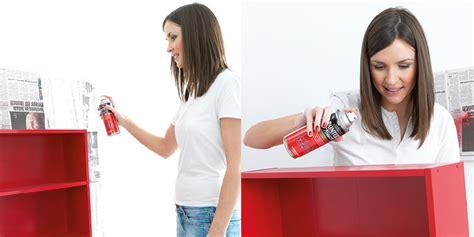 spray paint bookshelf how to spray paint a bookshelf