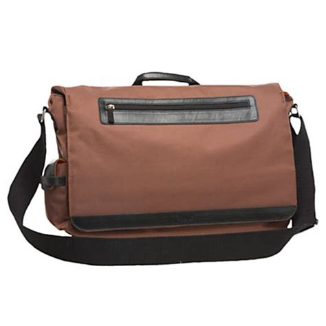 Office Depot Laptop Bags by Nuo Mobile Field Bag For 17 3 Laptops Brown By Office
