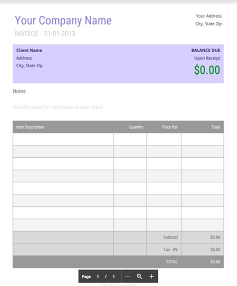 top 5 best invoice templates to use for business top