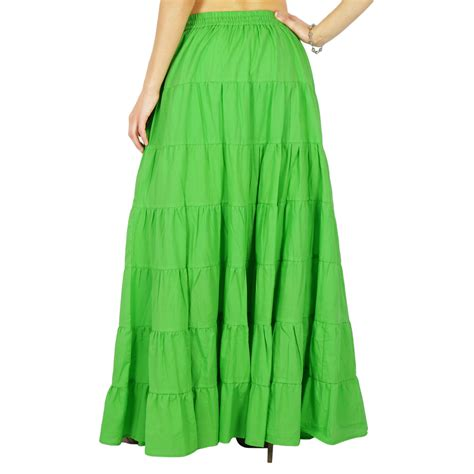 skirt cotton fashion hippie clothing skirt maxi