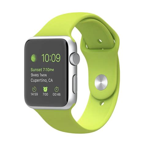 blibli apple watch jual apple watch sport green smartwatch 42mm online