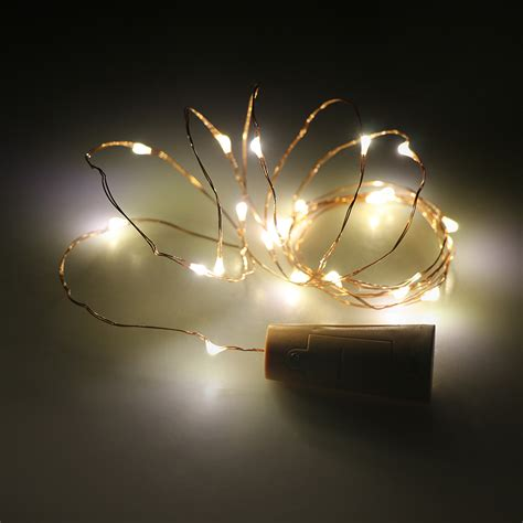 how are fairy lights wired 2m led copper wire string light l for valentines wedding decor ebay