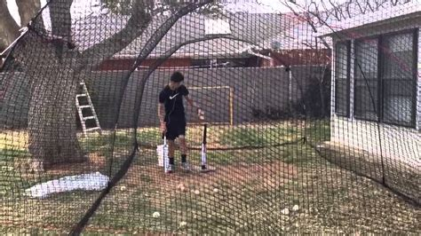 how to build a backyard batting cage backyard batting cage heater extender youtube