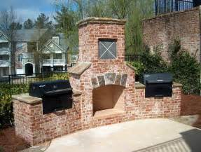 outdoor brick outdoor fireplace outdoor fireplace ideas