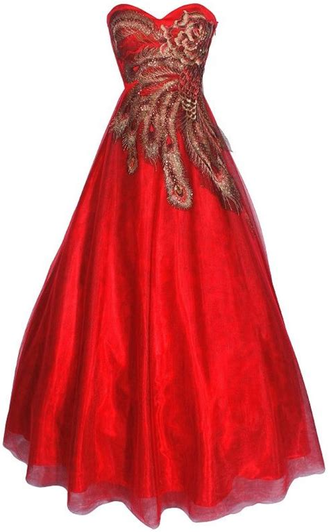 ball gown prom dresses 2014 red and black gold peacock ball gowns prom dresses 2013
