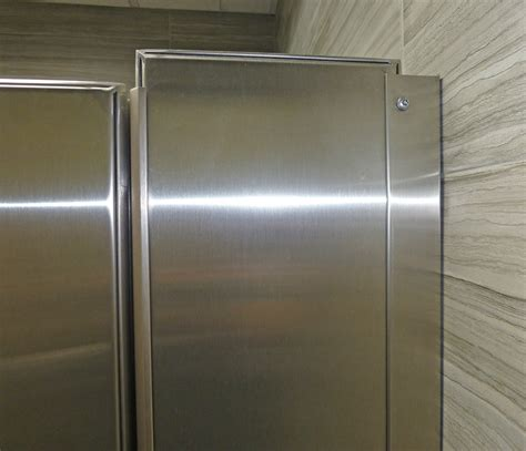 stainless steel bathroom partitions mavi new york ultimate privacy floor anchored stainless