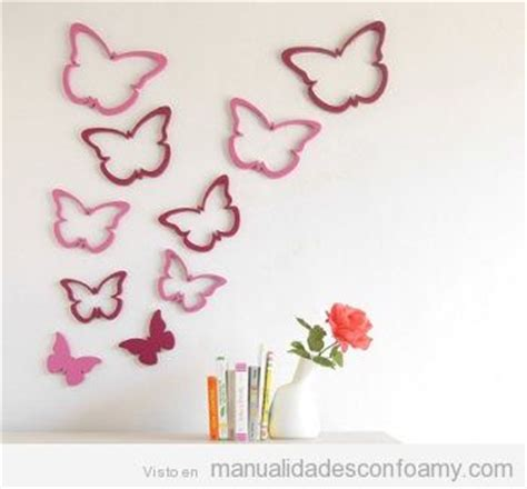 decorar paredes goma eva pared manualidades con foamy manualidades de goma eva