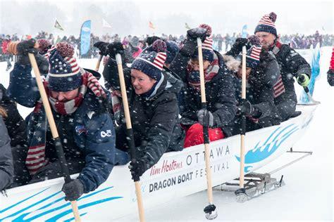 national capital dragon boat festival ice dragon boat festival honoured among ottawa s top