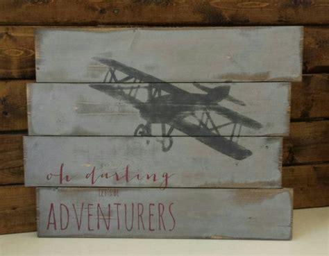 airplane decor boys zimmer 179 besten deko bilder auf christbaumanh 228 nger