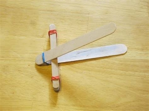 how to make a catapult for kids youtube