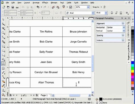 corel draw x4 not for resale working with tables in coreldraw mp4 youtube
