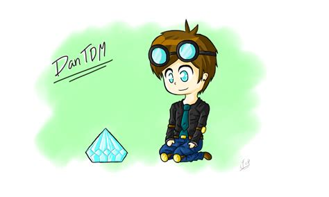Youtuber Dan Username 009 dantdm by thunderbuilder on deviantart