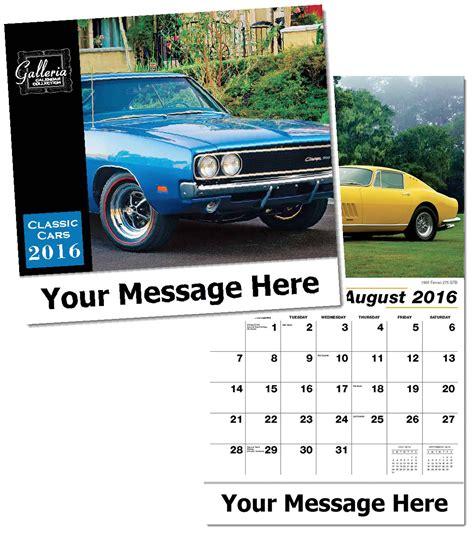 personalized classic cars calendars custom printed in bulk