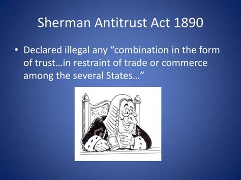 section 1 of the sherman act ppt chapter 16 politics and reform powerpoint