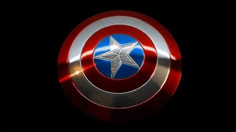 Flying Captain America toys captain america shield flying test wmv