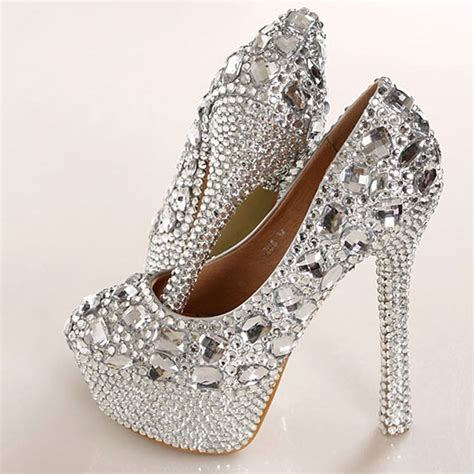 silver high heel shoes for wedding 2015 gorgeous fashion silver high heels wedding