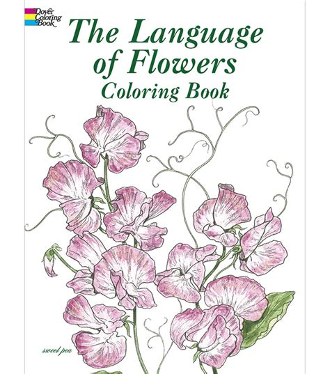 the language of flowers coloring book jo ann