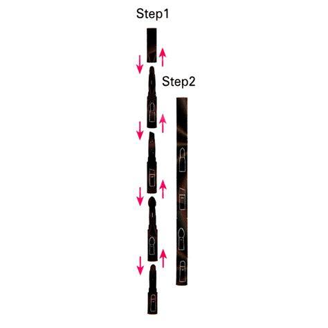 Makeup Brush 4 In 1 4 in 1 black eye makeup brushes kit eyebrow lip