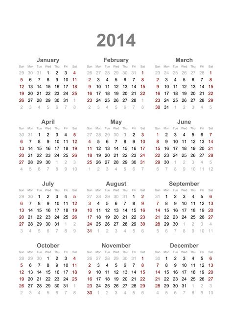 12 month calendar 2014 printable pictures to pin on