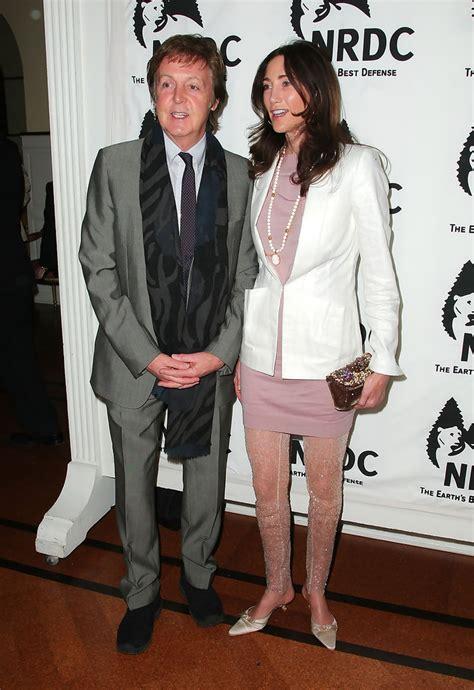 Was Paul Mccartney With Nancy Shevell by Nancy Shevell Blazer Nancy Shevell Looks Stylebistro