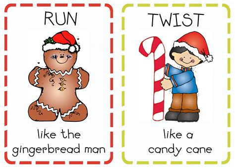 Free Printable Christmas Action Cards | book advent day 20 christmas action cards oopsey daisy