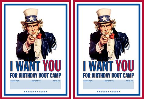 quot i want you quot boot c printable invitation paging supermom