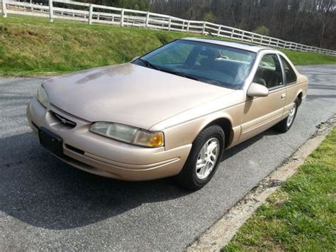 sell used 1996 ford thunderbird lx coupe 4 6l v8 no reserve 90k miles great condition in bel